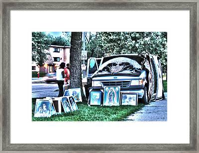 Van Art Framed Print