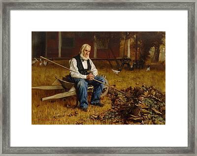 Van Buren County Tennessee Framed Print