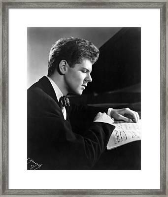 Van Cliburn, 1954 Framed Print by Everett
