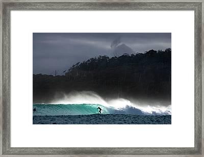 Van Diemen Dream Framed Print by Sean Davey