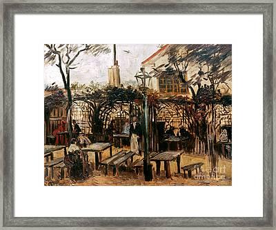 Van Gogh: Guingette, 1886 Framed Print by Granger