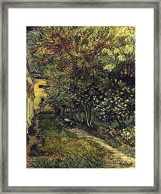 Van Gogh: Hospital, 1889 Framed Print by Granger