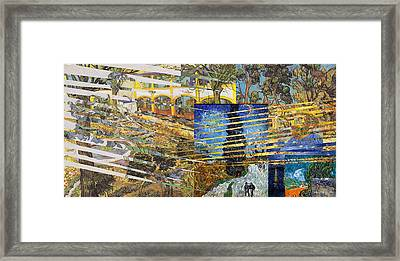 Van Gogh Mural Il Framed Print