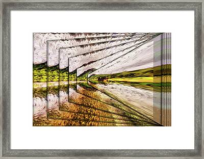 Van Gogh Perspective Framed Print by Mario Carini