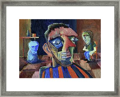 Van Gogh's Therapy Session Framed Print by Paul  Van Atta