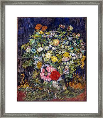 van Gogh's Vase          Framed Print
