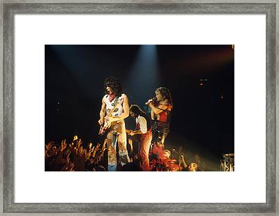 Van Halen 1984 Framed Print