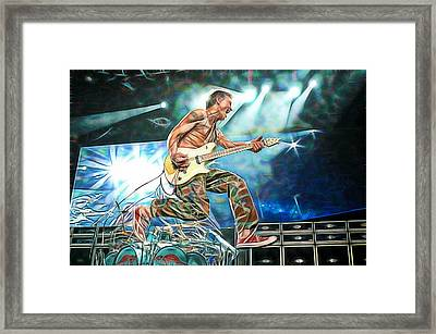 Van Halen Eddie Van Halen Collection Framed Print