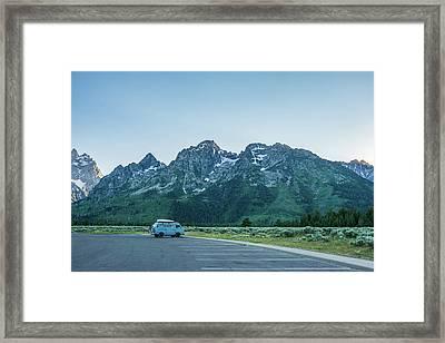 Van Life Framed Print