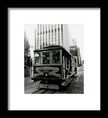 Trolley Car Framed Prints