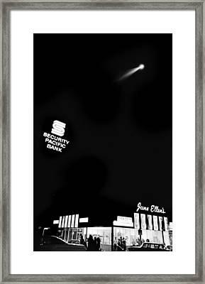 Van Nuys Boulevard 092 30 Sky Narc Framed Print