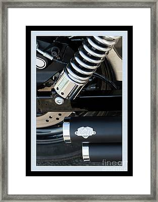 Framed Print featuring the photograph Vance And Hines by Wendy Wilton
