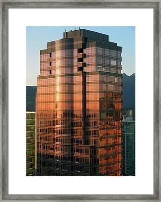 Vancouver 10 Framed Print