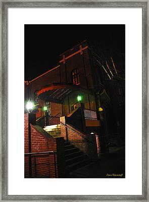 Vancouver Arts Building Framed Print