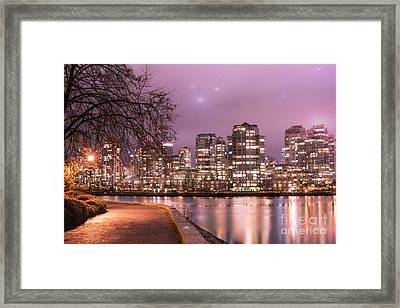Framed Print featuring the photograph Vancouver, Canada by Juli Scalzi