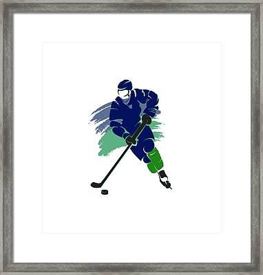 Vancouver Canucks Player Shirt Framed Print by Joe Hamilton