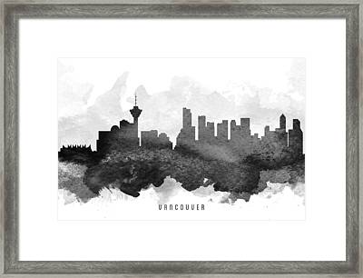 Vancouver Cityscape 11 Framed Print