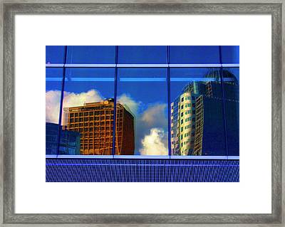 Vancouver In Color Framed Print by Barbara  White