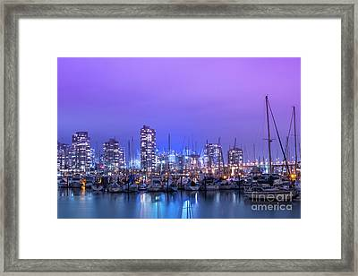 Framed Print featuring the photograph Vancouver by Juli Scalzi