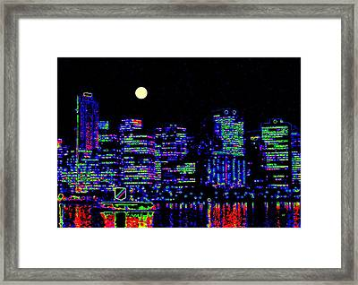 Vancouver Reflections Framed Print by Will Borden