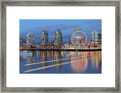 Vancouver Science World Framed Print