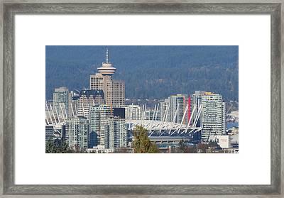 Vancouver Stadium Framed Print