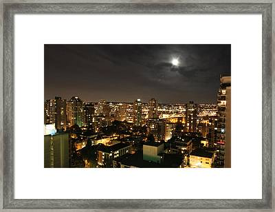 Vancouver State Of Mind Framed Print by Angie Wingerd