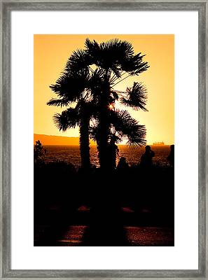 Vancouver Sunset  Framed Print by Naman Imagery