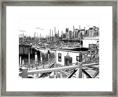 Vancouver Waterfront Framed Print by Will Borden