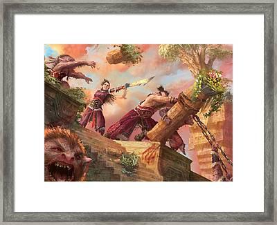 Vandalize Framed Print by Ryan Barger