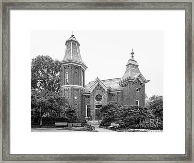 Vanderbilt University Fine Arts Gallery Framed Print by University Icons