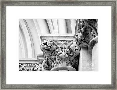 Vanderbilt University Kirkland Hall Detail Framed Print