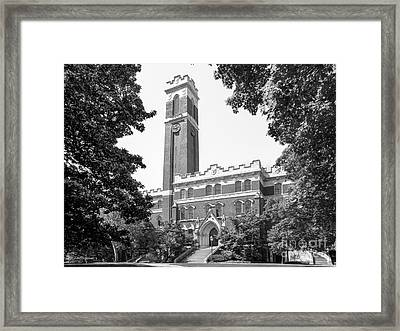Vanderbilt University Kirkland Hall Framed Print by University Icons
