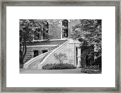 Vanderbilt University Stairway Framed Print by University Icons