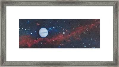 Vandor Framed Print by Wally Jones