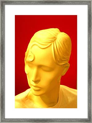 Vanessa R Framed Print by Jez C Self