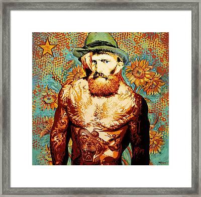 Vangelino Framed Print by Surj LA