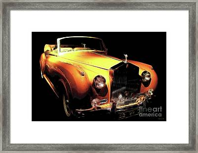 Vanilla Opulence Framed Print by Wingsdomain Art and Photography