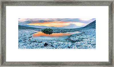 Vanilla Sunset Framed Print