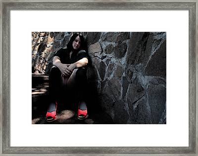 Vanilla Tragedy 2-5 Framed Print by David Miller