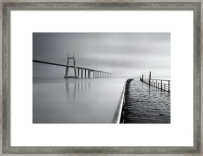 Vanishing Framed Print by Jorge Maia
