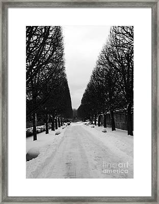 Vanishing Point Framed Print