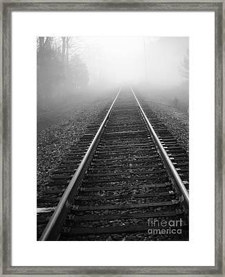 Vanishing Point Framed Print by Kathy Jennings