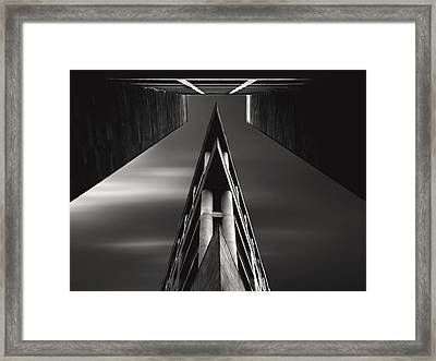Vanishing Point Framed Print by Sourig  Arslanian