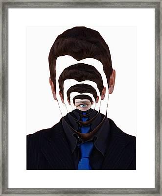 Vanity And Pride Framed Print