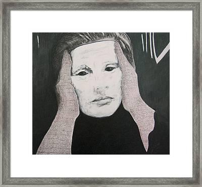 Vanity Be Thy Name Framed Print by Dixie Hester