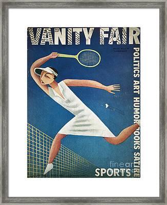 Vanity Fair, 1932 Framed Print by Granger