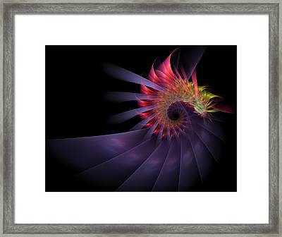 Framed Print featuring the digital art Vanquishing Silence by NirvanaBlues