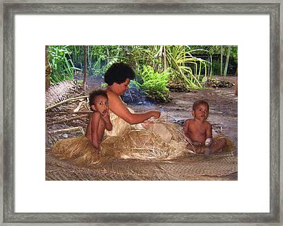 Vanuatu 3 Framed Print