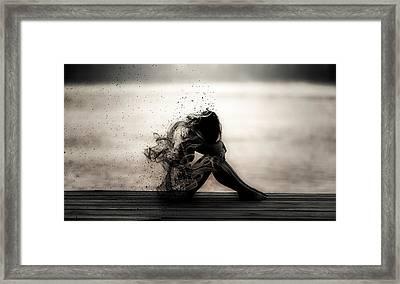 Vapours Of Sadness Framed Print